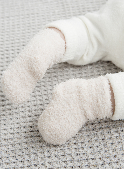 COZYCHIC® 2 PAIR INFANT SOCK SET