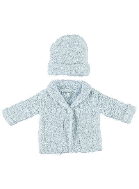 COZYCHIC® CARDIGAN AND HAT SET