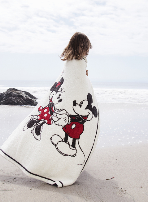 COZYCHIC CLASSIC DISNEY MICKEY & MINNIE MOUSE BABY BLANKET
