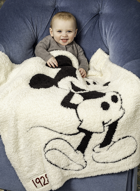 COZYCHIC® CLASSIC DISNEY MICKEY MOUSE BABY BLANKET