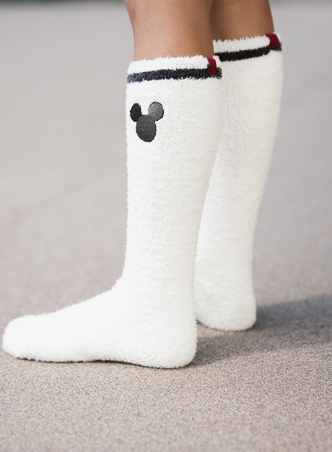 COZYCHIC CLASSIC DISNEY YOUTH MICKEY MOUSE 2-PACK SOCKS