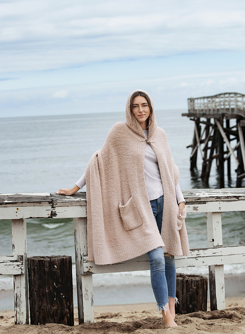 COZYCHIC® HOODED CAPE