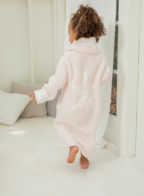 COZYCHIC® KIDS ZIP-UP STARFISH ROBE