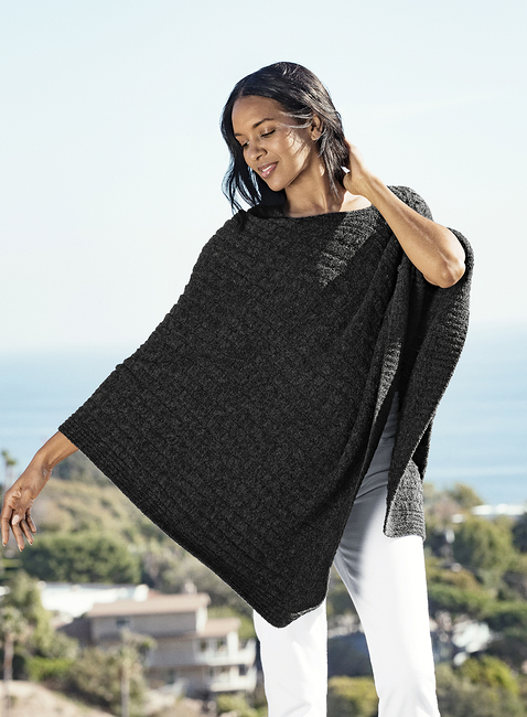 COZYCHIC LITE® CABLE PONCHO