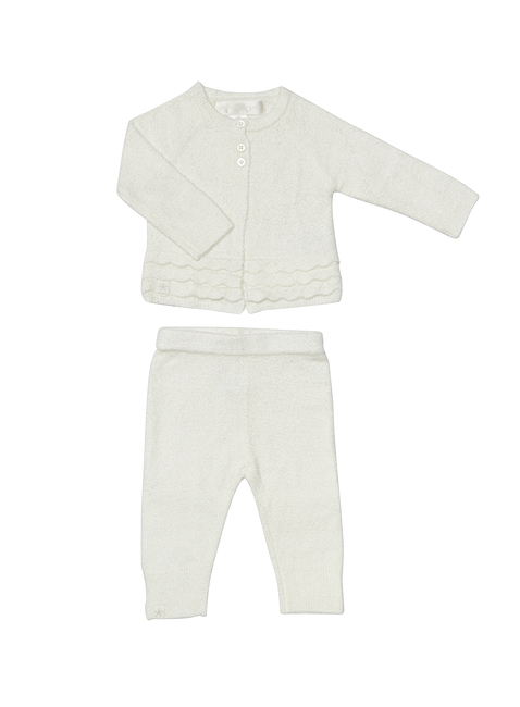 COZYCHIC LITE® INFANT HEIRLOOM CARDI & PANT SET