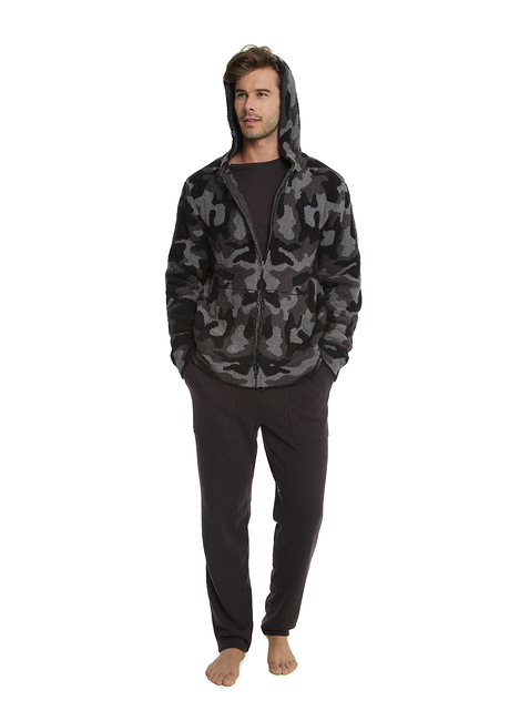 COZYCHIC® MEN\'S CAMO ZIP-UP HOODIE