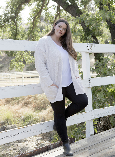 COZYCHIC® PLUS SIZE SO-CAL CARDI