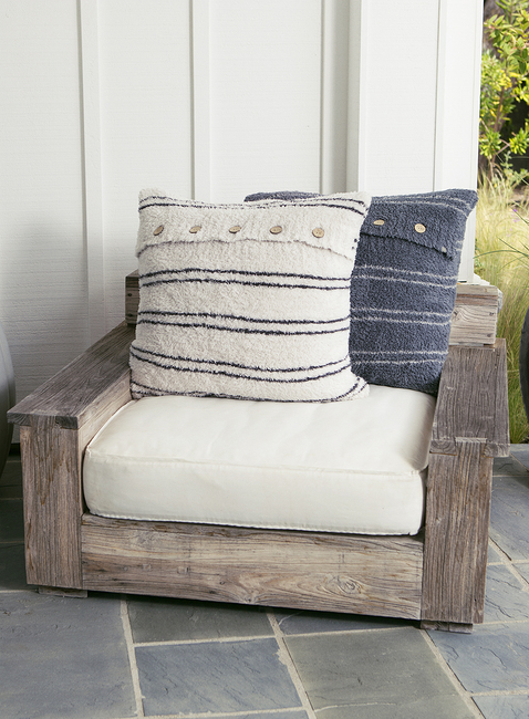 COZYCHIC® STRIPED PILLOW & INSERT