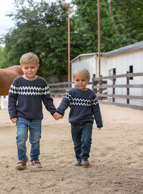 COZYCHIC® TODDLER BOYS NORDIC PULLOVER