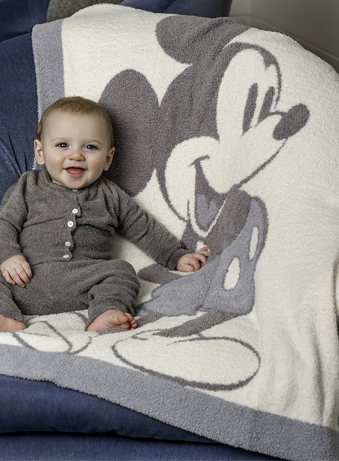 COZYCHIC® VINTAGE DISNEY MICKEY MOUSE BABY BLANKET