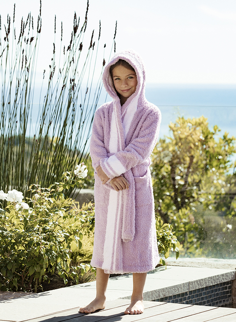 COZYCHIC® YOUTH STRIPED ROBE