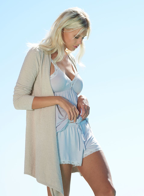 LUXE MILK JERSEY® LACE SHORT