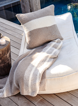 COZYCHIC® MULTI STRIPE HEATHERED BLANKET