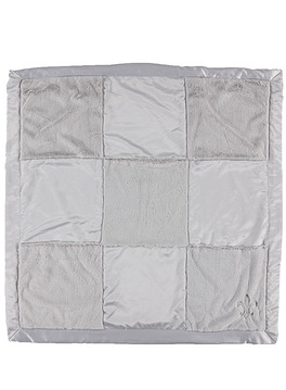CUDDLE PLUSH PATCHWORK RECEIVING BLANKET