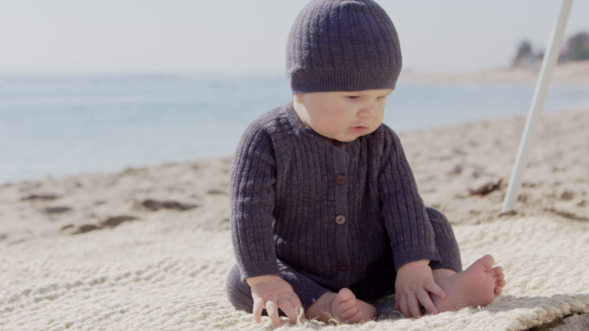 Watch the CCUL Infant Ribbed Cardi video